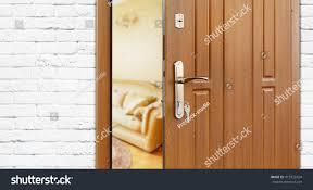open door welcome. Delighful Welcome Half Opened Door To A Living Room Door Handle Lock Lounge With Open Welcome