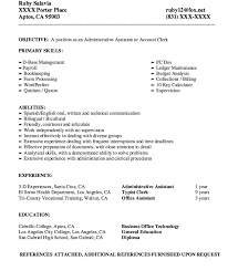 Typist Resume Sample
