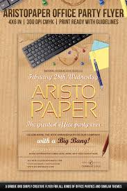 office party flyer aristopaper office party flyer miscellaneous events flyer