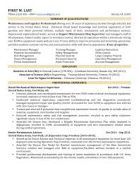 Example Of Military Resume Examples Of Resumes
