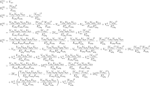 let s take perturbation theory for example the formula looks like this