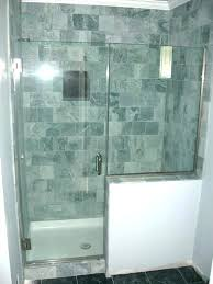 walk in shower half wall showers with half wall shower half wall shower enclosure half wall