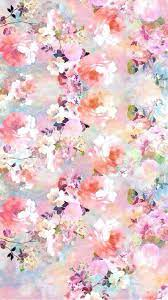 Watercolor Flowers Painting iPhone 6 ...
