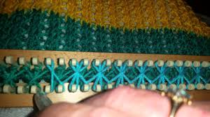Loom Knitting Patterns Blanket Magnificent Decorating