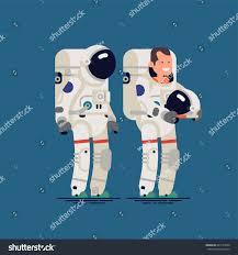 Astronaut Character Design Cool Vector Flat Character Design On Astronaut With Helmet