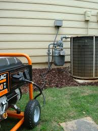 facts about portable generator to house connections norwall a generator connected to a house a dedicated cable and inlet box