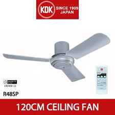 ceiling fan kdk r48sp 120cm ceiling fan with remote control for apartment with