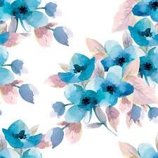 Pastel Blue Flowers Wallpapers - Top ...