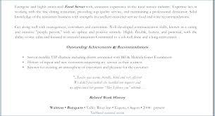 Waiter Resume Samples Example Of Waiter Resume Waitress Resume ...