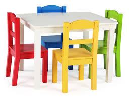samira kids 5 piece rectangular table and chair set