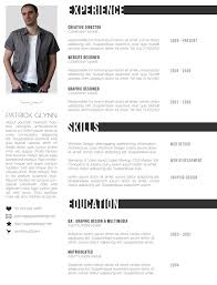 Free Cool Resume Templates Custom 40 Creative And Beautiful Resume Templates WiseStep