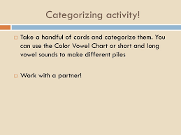 Color Vowel Chart Cards Ppt Kimberlykern Weebly Powerpoint Presentation Free