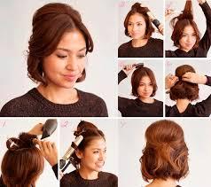 10 Tutoriales De Peinado Para Cabello Corto Recogidos Pelo Corto Faciles