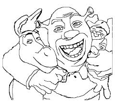 Small Picture Lets do coloring with Shrek Coloring pages ColoringPagehub