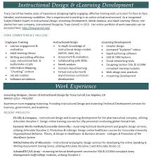 instructional designer e learning professional - Instructional Designer  Resume