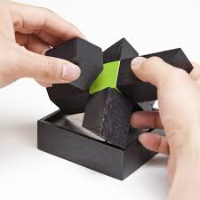 the worlds most attractive desk toy is now complete with a magnetic force the 7 piece magnetic wooden sculpture can be arranged in various positions