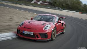 The gt3 rs does not have the rear seats a carrera would have but instead, it usually has a roll cage. 2019 Porsche 911 Gt3 Rs Color Guards Red Front Hd Wallpaper 179