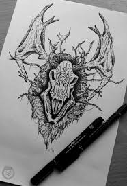 Leshen Lord Of The Woods Witcher Fanart ведьмак эскиз тату