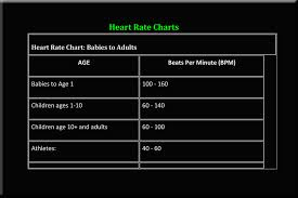 Children S Resting Heart Rate Chart Fitness
