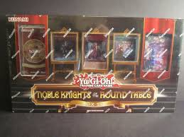 yu gi oh noble knights of the round table box set factory sealed