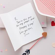 What To Write In A Valentines Day Card Papier