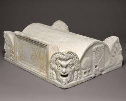 the r empire b c a d essay heilbrunn timeline  marble lid of a cinerary chest