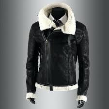 mens black faux leather jacket black brown faux leather motorcycle jacket fashion coat winter leather jacket