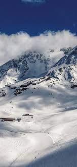 Snowy Mountain Iphone X Wallpaper