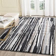 lineboro modern rug charcoal