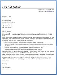 Nurse Cover Letters Experienced Nurse Cover Letter Sample Resume Cover Letter