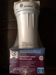 Household Water Filtration Ge Smartwater Household Water Filtration Unit Uses Type G Filter