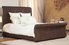 Bedroom Rattan Queen Wicker Bedroom Furniture White Home Design