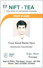 Badge Employee Best Id In Template 5 Free Word Staff Format Card