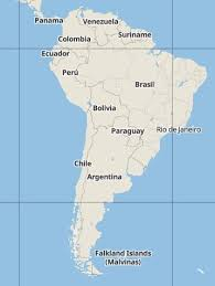 Trail Tech Northern South America Map