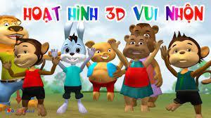 Phim Hoạt Hình 3D Vui Nhộn Cho Trẻ Em - Hoạt Hình Thiếu Nhi Việt Nam -  YouTube