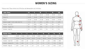 North Face Size Chart The North Face Womens Reflex Core Shorts