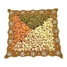 Decorated Fruit Trays Decorative Dry Fruits Packing Tray at Rs 100 piece Dry Fruit Tray 70