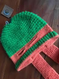 mutant ninja turtles beanie hat alpaca blend andes gifts fair trade new osfa
