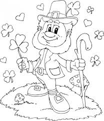 Small Picture 20 Free Printable Leprechaun Coloring Pages EverFreeColoringcom