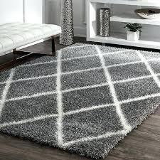 nuloom moroccan rug geometric diamond plush area rug in ash grey and white nuloom moroccan
