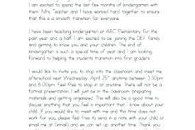 Teacher Introduction Letter Template Dancarlyle Me