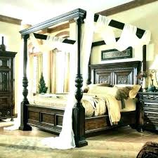 White Wood Canopy Bed White Queen Canopy Bed White Wood Canopy Bed ...