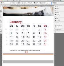 The Office Calendar Corporate Calendar In Indesign Incl Template Saxoprint