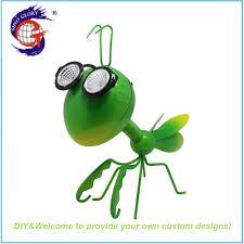 Mantis Led Light Hot Item Handsome Mantis Led Solar Warm White Light For Home Garden Decor