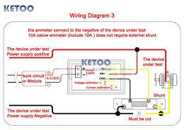 dc 0 100v 1000a red led display volt amp meter digital voltmeter getsubject aeproduct