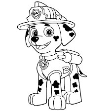 La Patrulla Canina Dibujos Para Colorear