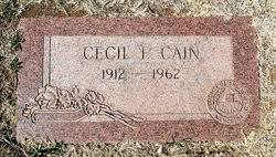 Cecil Fields Cain (1912-1962) - Find A Grave Memorial