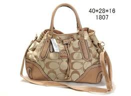Coach Buckle In Signature Large Ivory Hobo ENB
