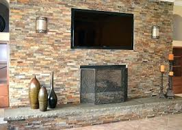 refacing a brick fireplace with stone veneer fireplace refacing fireplace refacing cost