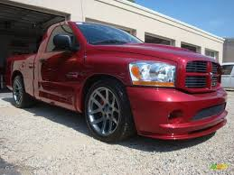 2006 Inferno Red Crystal Pearl Dodge Ram 1500 SRT-10 Regular ...
